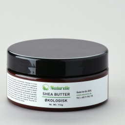 Økologisk sheasmør - Raw virgin shea butter